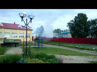 Пожар в с. Новобелокатай, ул. Школьная, 8 (VID_20180827_161406)