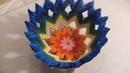 3D origami VASE FOR FRUITS misa na owoce how to make instruction