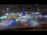 Пермь. Самый большой ледяной городок в России.
