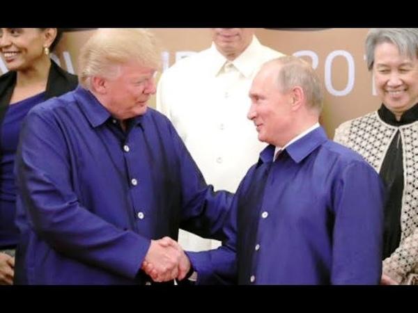 Олег Соскин*Путин и Трамп на встрече в Хельсинки могут организовать Мюнхенский сговор* 09 07 18