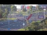 Ехал и въехал. Сегодня утром на перекрёстке улиц Пионерская-Московская произошло ДТП