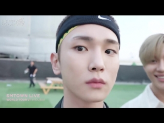 180423 The behind the scenes of SMTOWN LIVE WORLD TOUR VI in DUBAI (рус.саб)