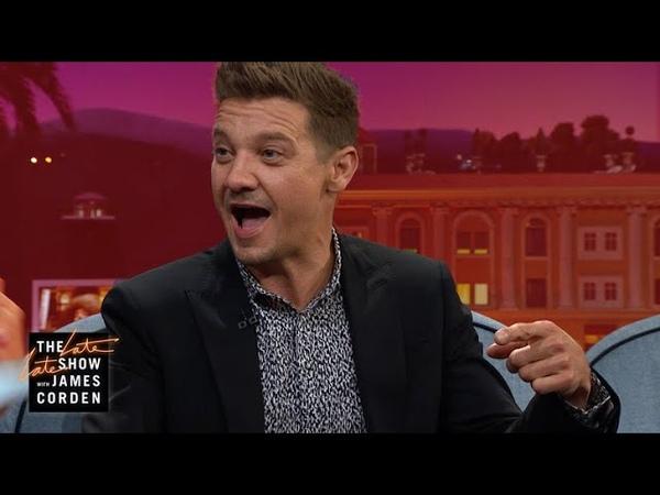 Jeremy Renner Conquered 'Carpool Karaoke'