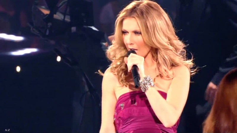 Celine Dion I Drove All Night Taking Chances World Tour The Concert