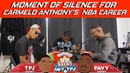 Moment of Silence For Carmelo Anthony's NBA Career | Hoops N Brews