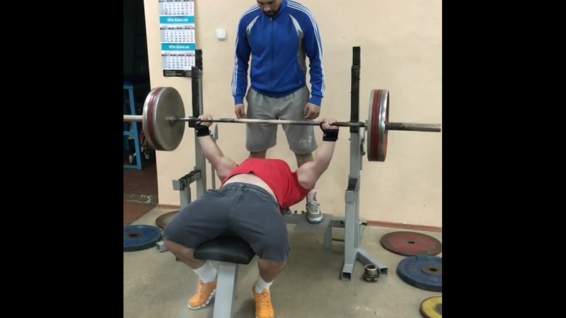 Вадим Довганюк - жим лежа 200 кг на 12