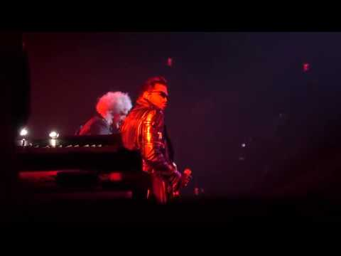 4K HD Q ueen Adam Lambert T ie Your Moth er Down 9 15 2018