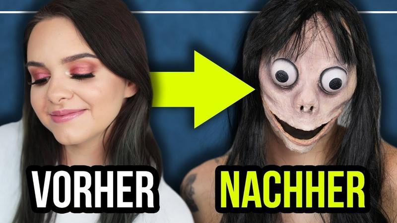 Ich verwandle mich in MOMO! 👻- Makeup Transformation / Tutorial