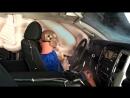 2017 Nissan Titan crew cab side IIHS crash test