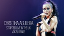 Christina Aguilera: Stripped Live In the UK - Vocal Range (D3-G6)