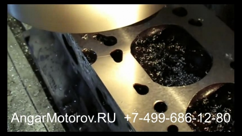 Ремонт Головки Блока (ГБЦ) Audi A4 2.0 TFSI Шлифовка Опрессовка Сварка Восстановление постелей