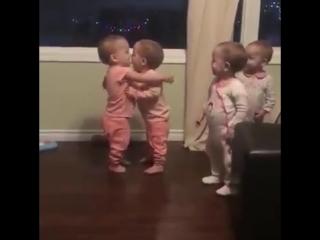 Когда давно не видел своих друзей