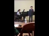 Армянская и итальянская музыка. Лауреат II степени международного конкурса Антонян Авет