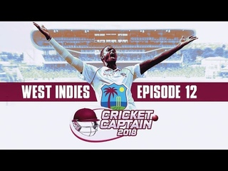 CRICKET CAPTAIN 2018 | WINDIES CAREER MODE #12 | MASSIVE INDIAN TEST