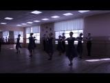 Этюд с основными элементами Украинского танца