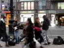 Street band Трава у дома (Земляне) cover у Гостиного двора в Петербурге