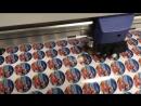 Печать наклеек с резкой диаметром 30 35 40 мм для @