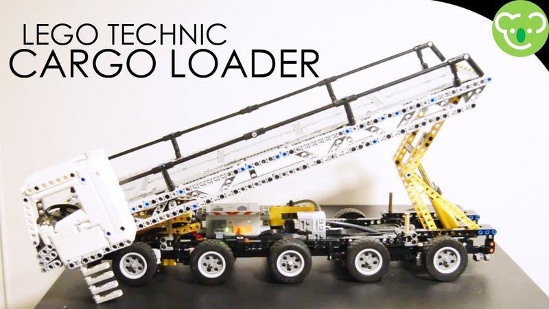Self Propulsed Elevating Platform Prototype Pneumatic MOC Lego Technic with SBrick