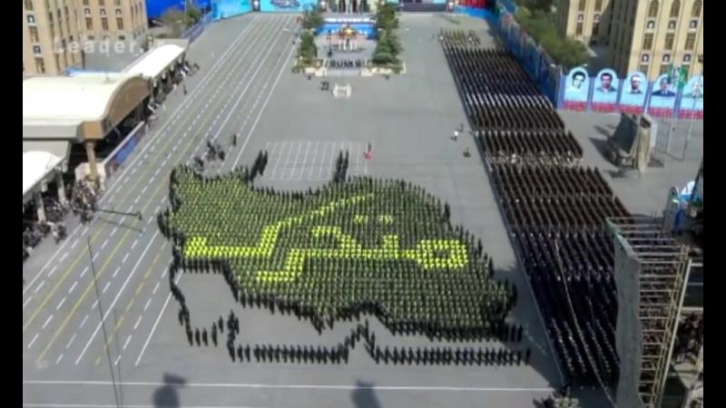 Iran parade of Graduate Student from Army Officer Universities رژه دانشجویان دانشگاه افسری ارتش