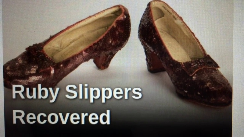 Ruby Slippers Found Examined