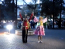 Татарский танец в сквере Молодёжный В Солдатова Р Гардиев
