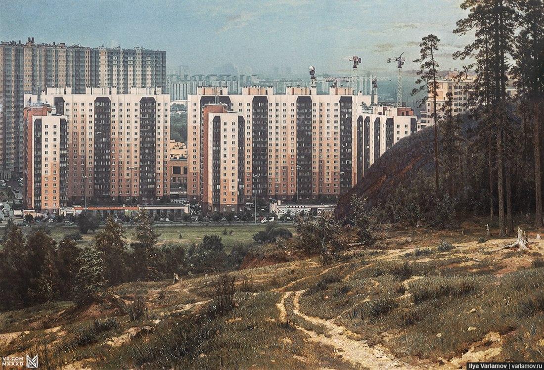 Новый русский пейзаж.