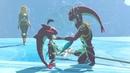 Zelda BOTW Baby Sidon Mipha Zelda Cutscene The Champions' Ballad