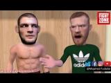 «MMA Comedy»: Хабиб Нурмагомедов vs Конор Макгрегор — однажды в раздевалке [Рифмы и Панчи]