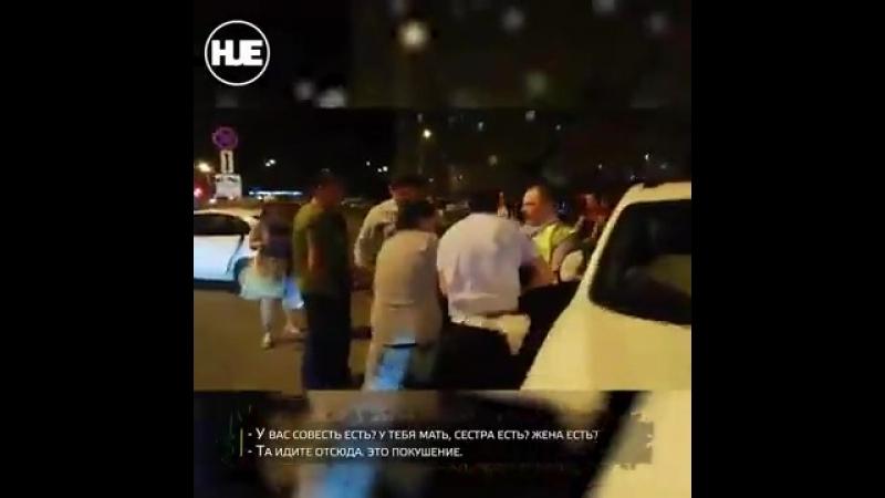 В Люберцах пьяный водитель напал на поли том ремне 360p mp4