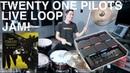 Twenty one pilots - Live Loop Drum Jam - NEW Alesis Strike Multipad Debut!