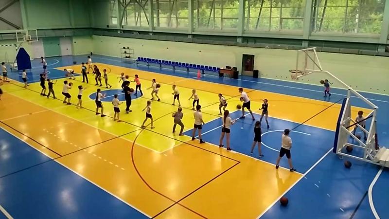Баскетбольные Кэмпы. Интенсив Контроль мяча 13 июня 2018 г. Чусовой