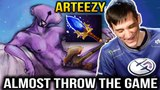 ARTEEZY Faceless Void: Almost Throw the Game of Dota 2