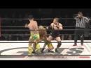 Kazuhiro Tamura, Hagane Shino, Taro Yamada vs. Naoshi Sano, Shinobu, Hercules Senga (GUTS World - 13th Anniversary)
