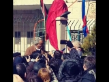 Открытие бюста Ю.А.Гагарина на Площади Рождества в Вифлееме