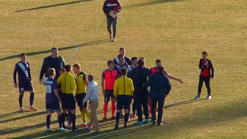 ФК Десна: Скандальні епізоди центрального матчу туру Першої Ліги Десна 3:3 Арсенал