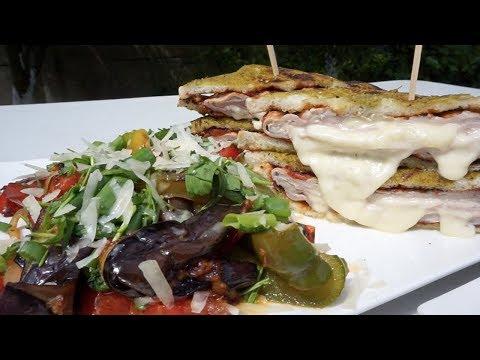 Шашлык (3 в 1) с горячим овощным салатом.Рецепт от Жоржа