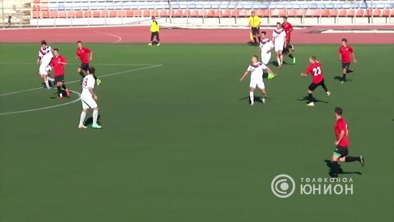 В Горловке не доиграли матч В Донецке провели мемориал Мамиева Республиканский Футбол