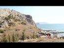 Черное море рядом с Судаком в Крыму