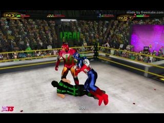Скорпион и Рептилия (с) против Капитана Америки и Железного Человека (с Тором)