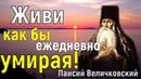 Приобрети навсегда три слова Если истинно хочешь спастись возлюби скорби Паисий Величковский