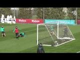 Real Madrid training goals