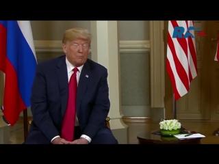 В Хельсинки прошли полноформатные переговоры Путина и Трампа
