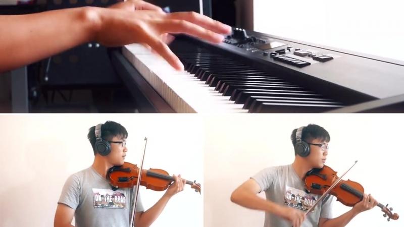 Uchiage Hanabi Shita kara Miru ka Yoko kara Miru ka SLSMusic 打上花火  DAOKO × 米津玄師 Violin