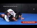 Advanced Kimura Attack from Half Guard Top by Leandro Lo