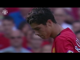 Cristiano Ronaldo's Debut - EVERY Touch v Bolton! - Manchester United 4-0 Bolton Wanderers