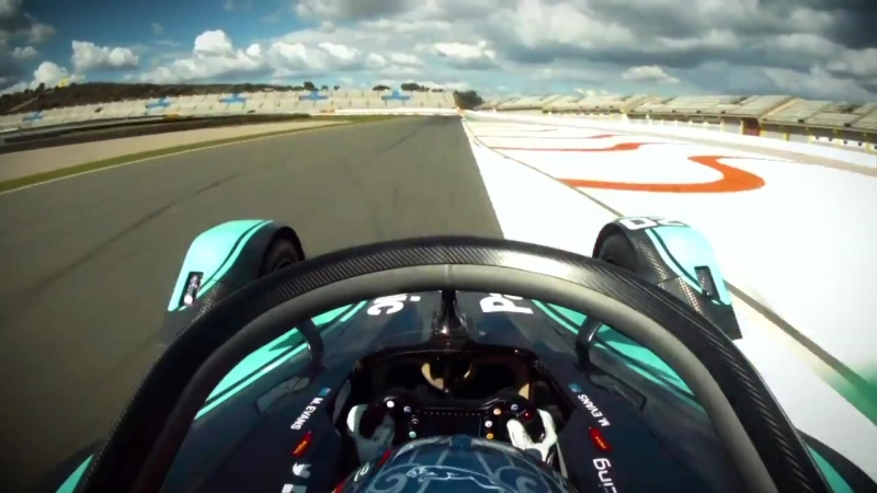 Join @MitchEvans_ on board the Jaguar ITYPE3 during day 1 of FETesting! JaguarElectrifies-1.mp4