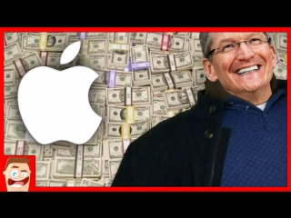 Яблочный Маньяк Сколько зарабатывает Apple, Google и Microsoft в секунду ?