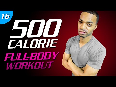 35 Min. Fight to the Finish Workout | 500 Calorie HIIT MAX Day 16