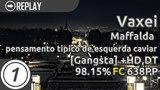 Vaxei Maffalda - pensamento tipico de esquerda caviar Gangsta +HD,DT 98.15 638pp