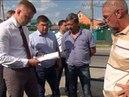 Игорь Чагаев раскритиковал строительство тротуара на ул Свободы.